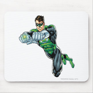 Green Lantern - Comic, Both arms forward Mouse Mat
