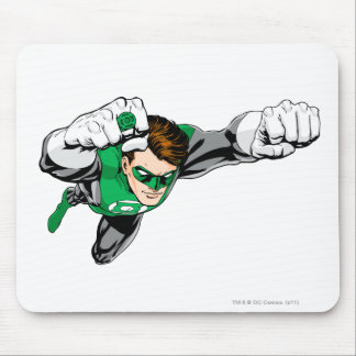 Green Lantern - Comic, Flying Right Mouse Mat
