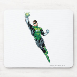 Green Lantern - Comic, Flying Up Mouse Pad