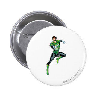 Green Lantern - Comic, Jumping 6 Cm Round Badge