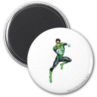 Green Lantern - Comic, Jumping 6 Cm Round Magnet