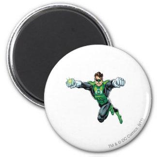 Green Lantern - Comic,  Looking Forward 6 Cm Round Magnet