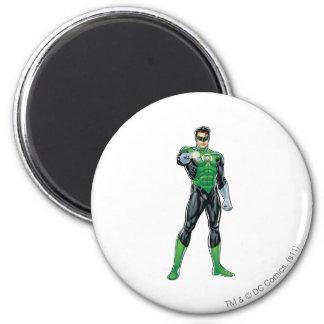 Green Lantern - Comic, Standing 6 Cm Round Magnet