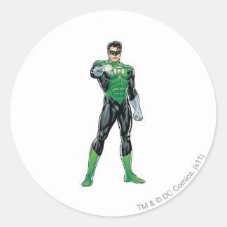 Green Lantern - Comic, Standing Classic Round Sticker