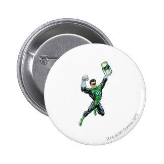Green Lantern - Comic, with lantern 6 Cm Round Badge