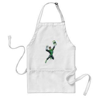 Green Lantern - Comic, with lantern Standard Apron