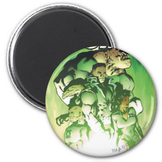 Green Lantern Corps 6 Cm Round Magnet