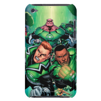 Green Lantern Corps Barely There iPod Cases