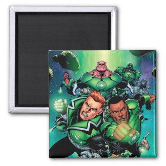 Green Lantern Corps Refrigerator Magnet