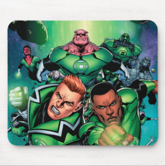 Green Lantern Corps Mouse Mat