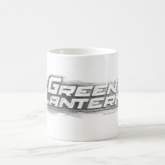 Green Lantern Drawing Coffee Mug