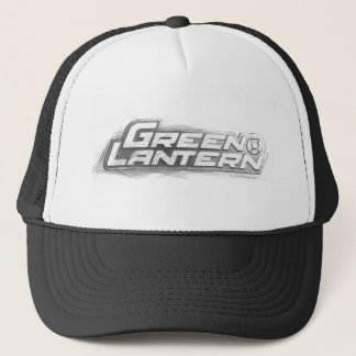Green Lantern Drawing Trucker Hat