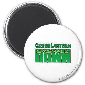 Green Lantern - Emerald Dawn Logo 6 Cm Round Magnet