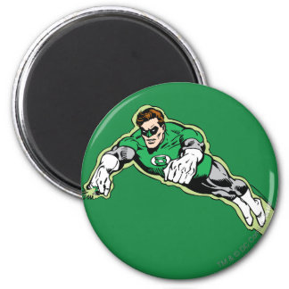 Green Lantern Energy Beam 6 Cm Round Magnet