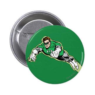 Green Lantern Energy Beam 6 Cm Round Badge