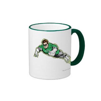 Green Lantern Energy Beam Coffee Mugs