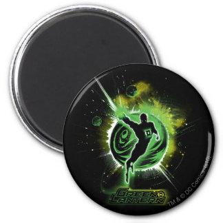 Green Lantern - EO 6 Cm Round Magnet