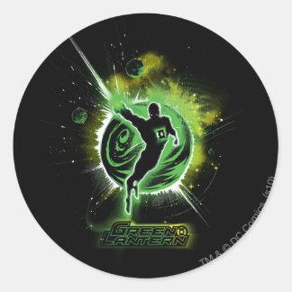 Green Lantern - EO Classic Round Sticker