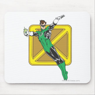 Green Lantern Extends Arms Mouse Pad