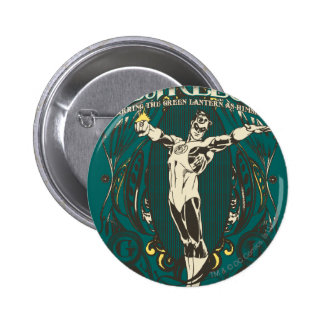 "Green Lantern - ""Fearless"" Poster 6 Cm Round Badge"