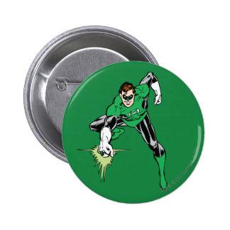 Green Lantern Fight 6 Cm Round Badge