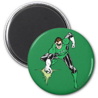 Green Lantern Fight 6 Cm Round Magnet