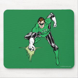 Green Lantern Fight Mouse Mat