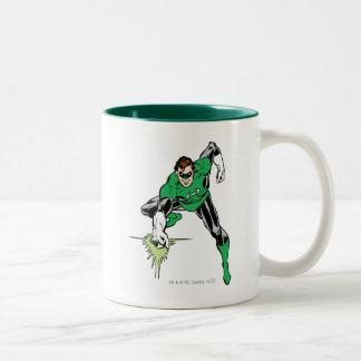 Green Lantern Fight Coffee Mugs