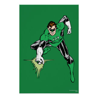 Green Lantern Fight Poster