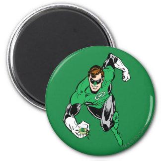 Green Lantern Fly Forward 6 Cm Round Magnet