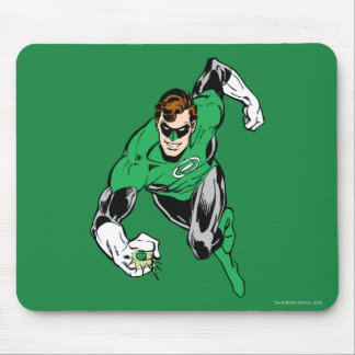 Green Lantern Fly Forward Mouse Mat