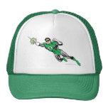 Green Lantern Fly Left 2 Trucker Hats