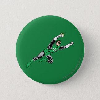Green Lantern Fly Right 6 Cm Round Badge
