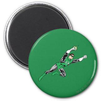 Green Lantern Fly Right 6 Cm Round Magnet