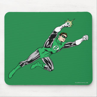 Green Lantern Fly Right Mouse Pad