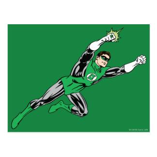 Green Lantern Fly Right Postcard