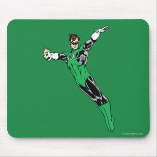Green Lantern Fly Up Mouse Pad