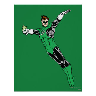Green Lantern Fly Up Poster