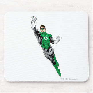 Green Lantern  - Flying Up Mouse Pad