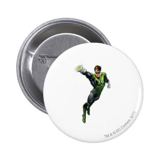 Green Lantern - Fully Rendered,  Arm out 6 Cm Round Badge