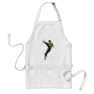 Green Lantern - Fully Rendered,  Arm out Standard Apron