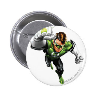 Green Lantern - Fully Rendered,  Arm Raise 6 Cm Round Badge