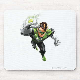 Green Lantern - Fully Rendered,  Arm Raise Mouse Mat