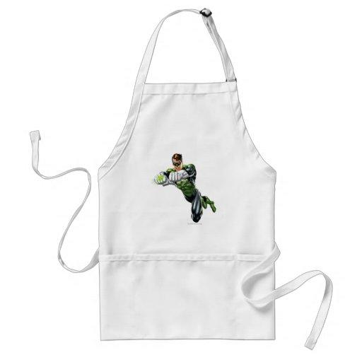 Green Lantern - Fully Rendered,  Both arms forward Apron