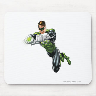 Green Lantern - Fully Rendered,  Both arms forward Mouse Pad