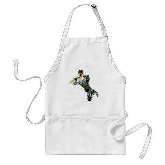 Green Lantern - Fully Rendered,  Both arms forward Standard Apron