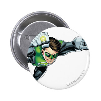 Green Lantern - Fully Rendered,  Flying Right Buttons