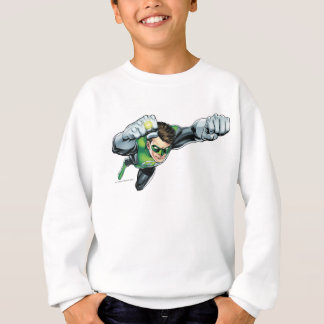 Green Lantern - Fully Rendered,  Flying Right Sweatshirt