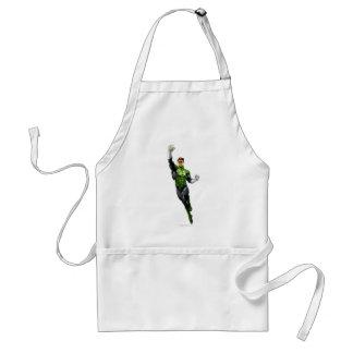 Green Lantern - Fully Rendered,  Flying Up Standard Apron