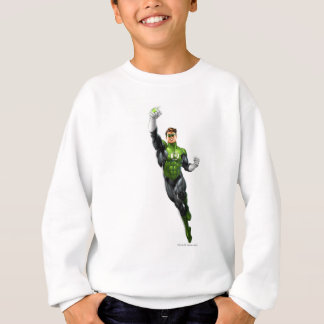 Green Lantern - Fully Rendered,  Flying Up Sweatshirt